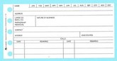 "116 - Sales Prospect Forms - 2 1/2"" X 5"""