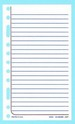 "133 - Ruled Refill Sheets - 6 1/2"" x 3 7/8"""
