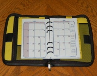 "875 - Monthly/Telephone Cool Planner - 6 1/2"" X 3 7/8""  Click here for years available"